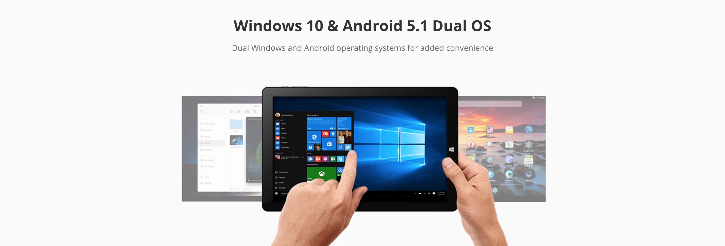 CHUWI Hi10 Plus Windows 10 + Remix OS (Android5.1) タブレットコンピューター