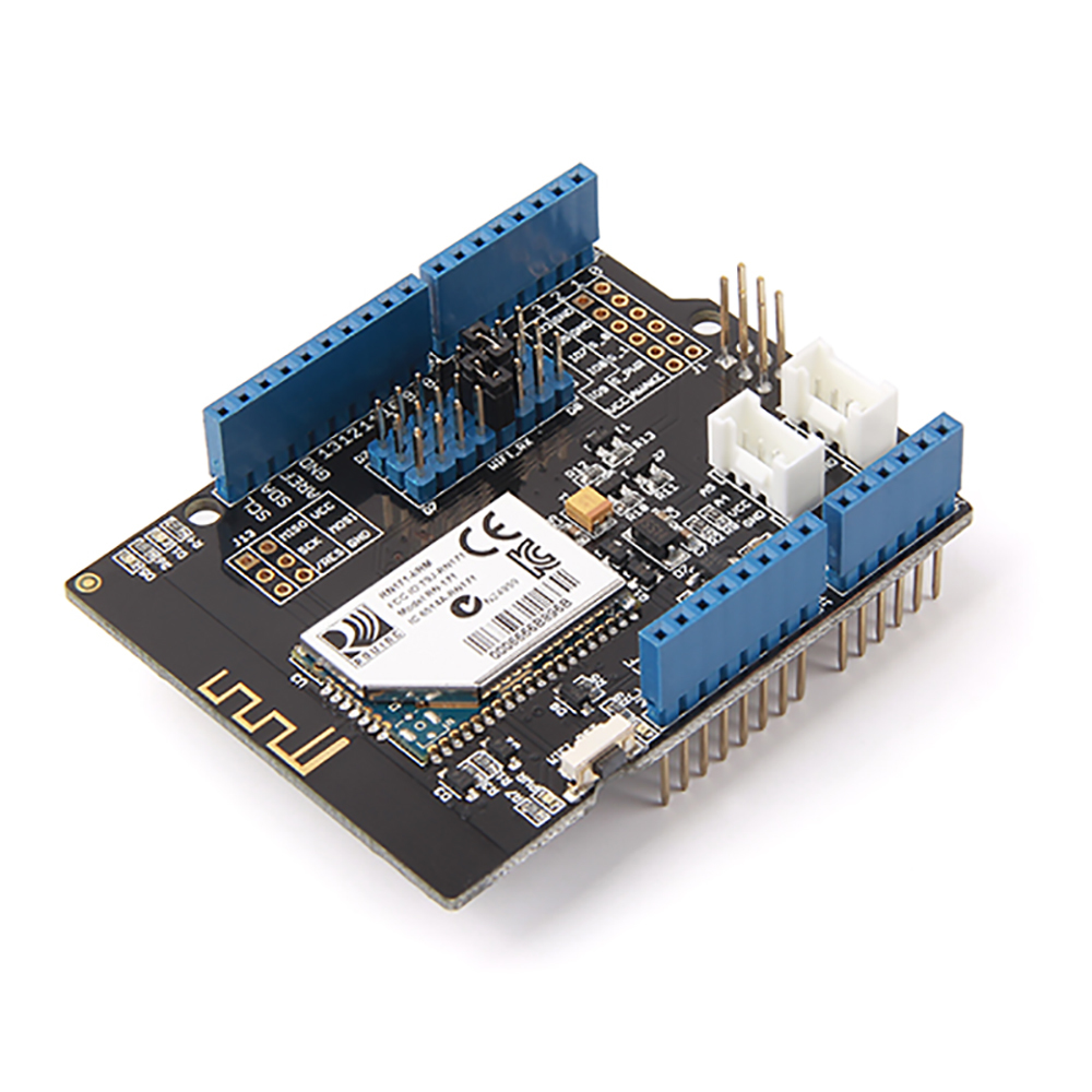 Wifi Shield 2.0 拡張ボード・Arduino用 RN-171 モジュール(802.11b/g 2.4GHz TCP/UDP/FTP/HTTP)