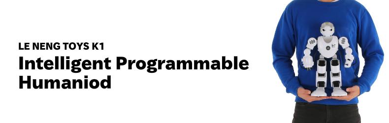 LE NENG TOYS K1 インテリジェント プログラミング ヒューマノイド