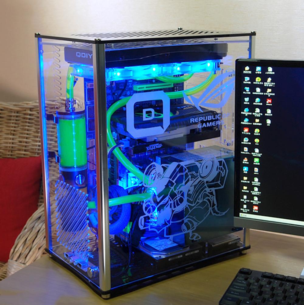 パソコン スケルトン