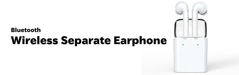 Dacom 左右独立型 ミニ ダブルイヤー ワイヤレス Bluetooth ヘッドセット