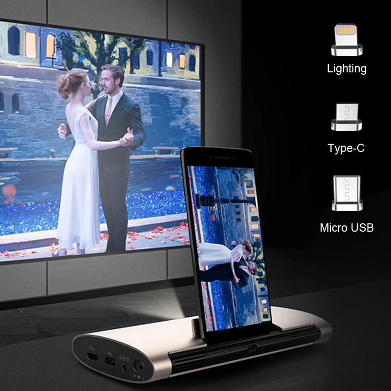 Lightning、MicroUSB、USB Type-C