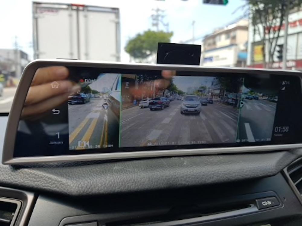 4カメラ ドライブレコーダー 10インチディスプレイ センターコンソール Android 5.1 4G GPS Wi-Fi