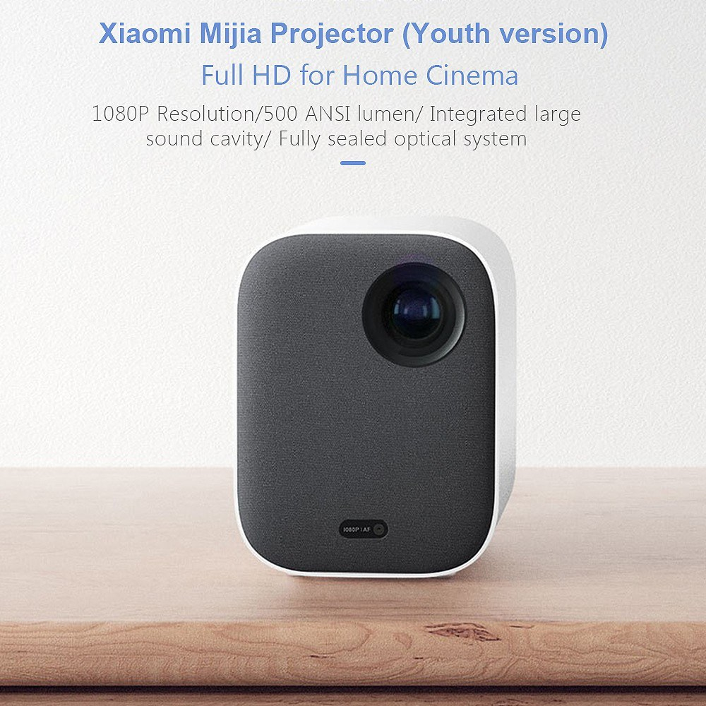 xiaomi Wi-Fi、Bluetooth接続対応プロジェクター