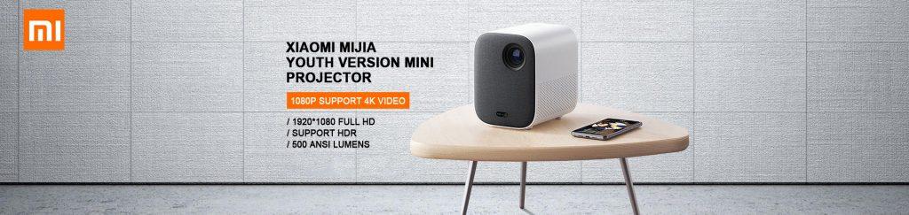 Xiaomi Mijia 4K対応 フルHD 1920 x 1080 mini DLP プロジェクター