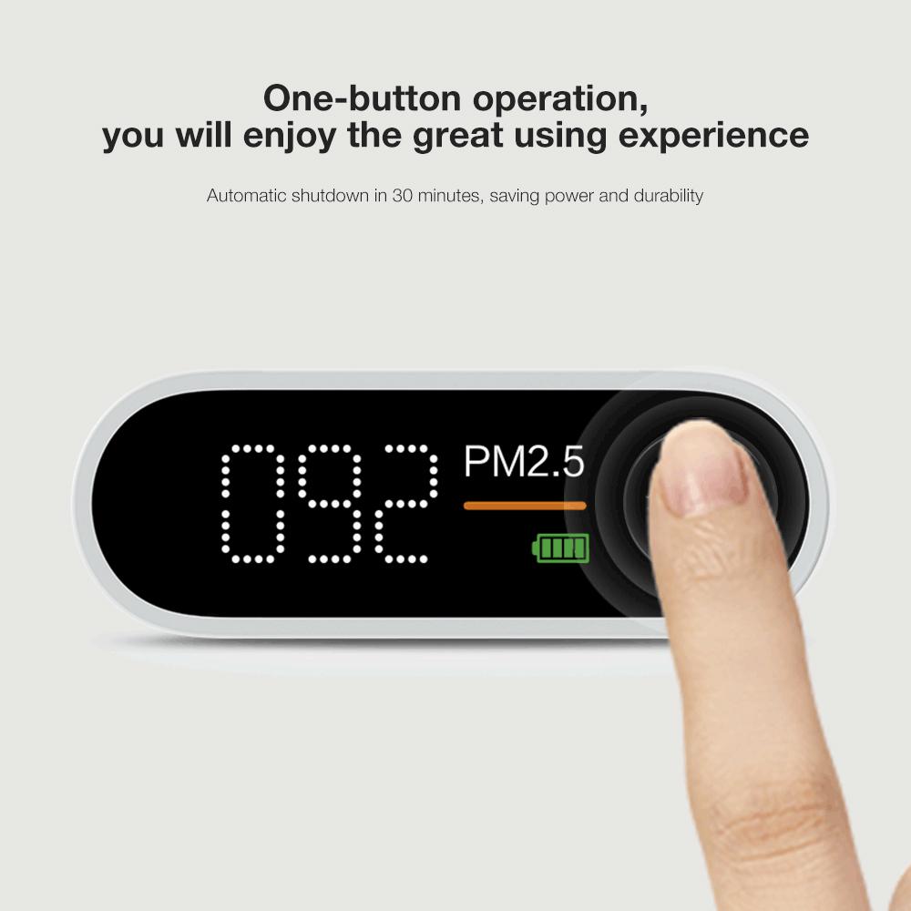 ポータブル PM 2.5 エアーモニター 検出器 スマートセンサー