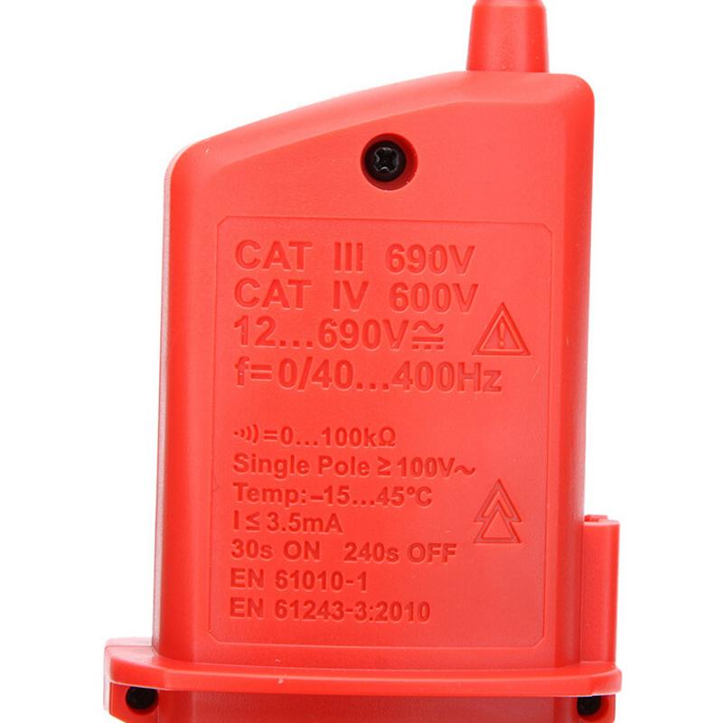 UNI-T UT18D オートレンジ AC/DC電圧・導通・漏電テスター