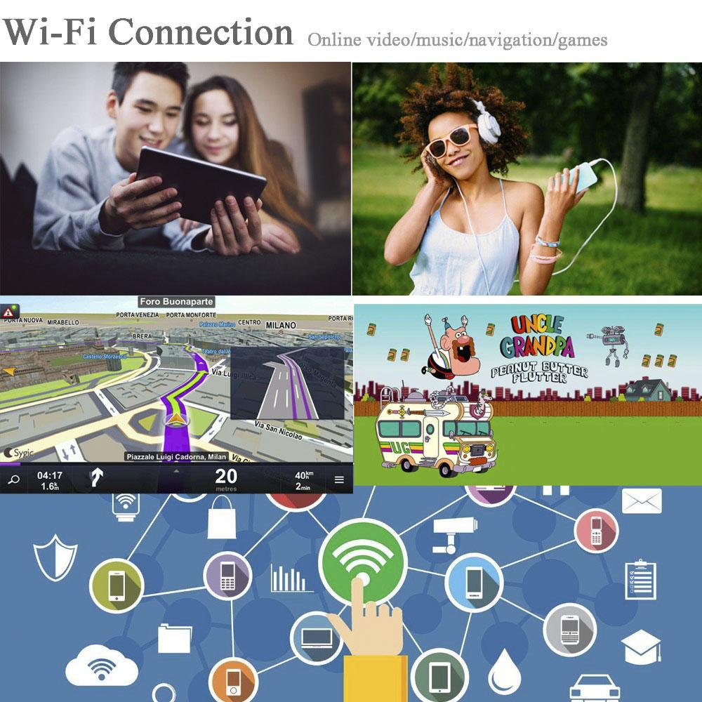 2カメラ 12インチ 1080P ダッシュボードドライブレコーダー Wi-Fi