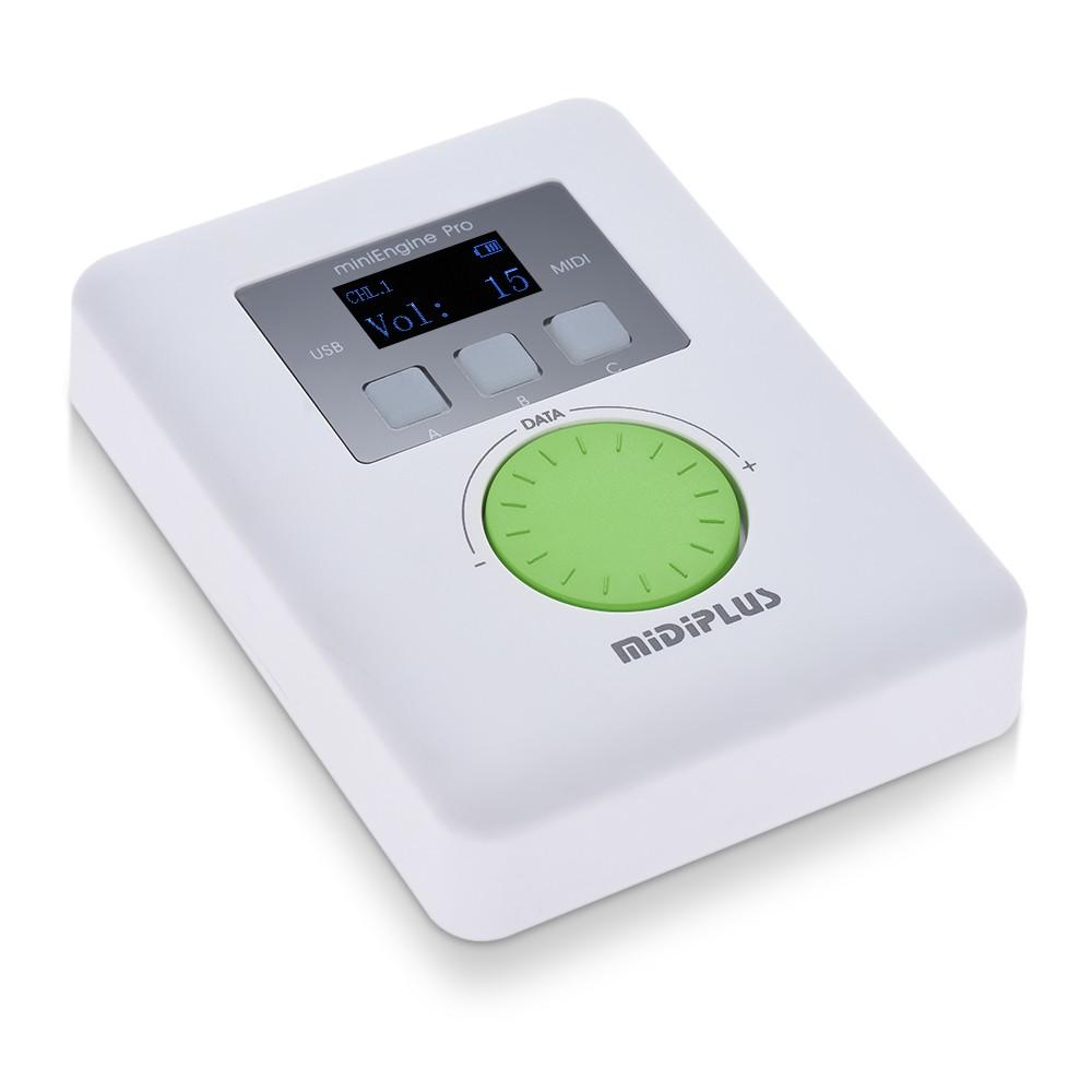 MIDIPLUS miniEngine Pro 外付け USB サウンドモジュール 128 MIDI サウンド 64 トーン
