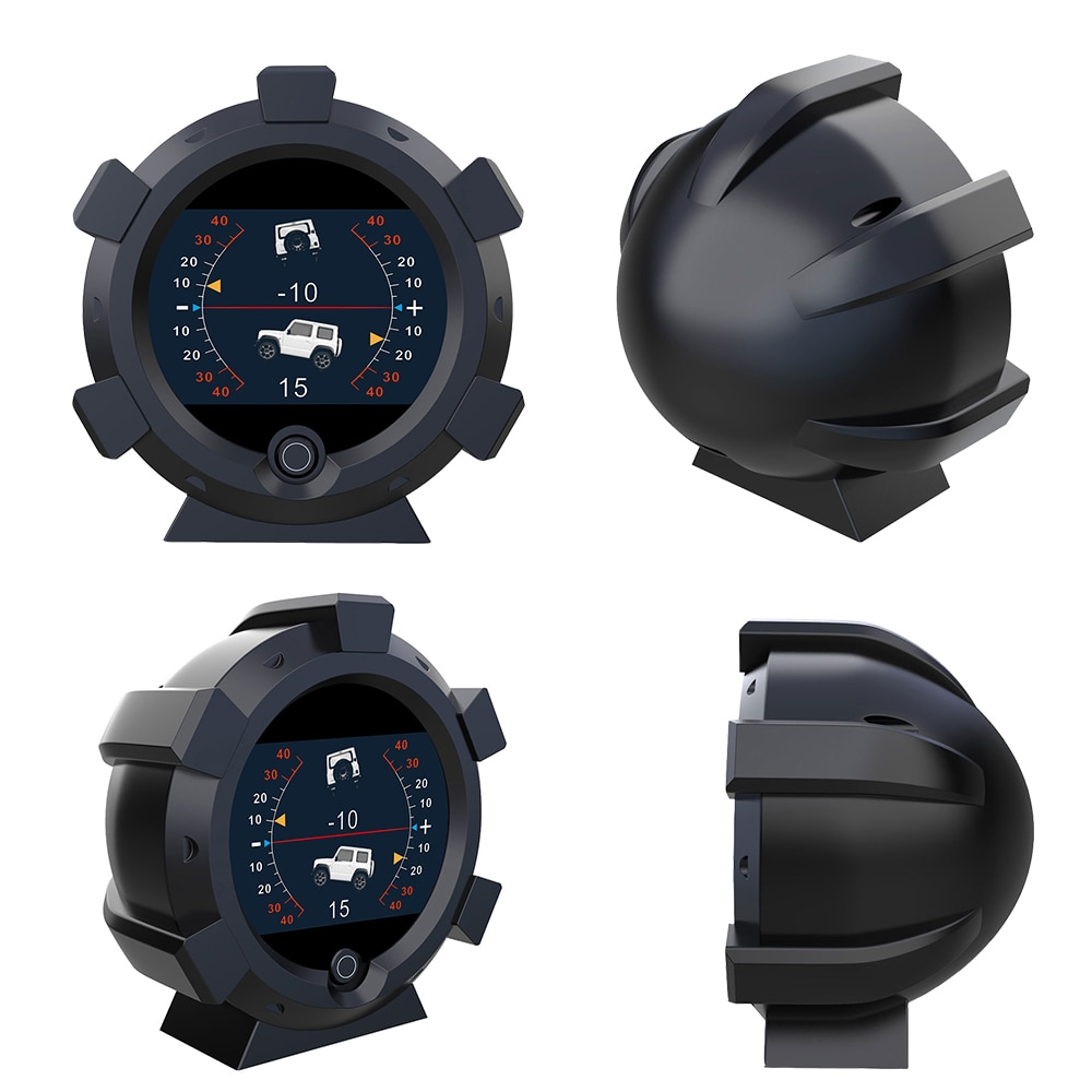 オフロード車対応 スマート GPS スピードメーター デジタル 勾配レベルメーター
