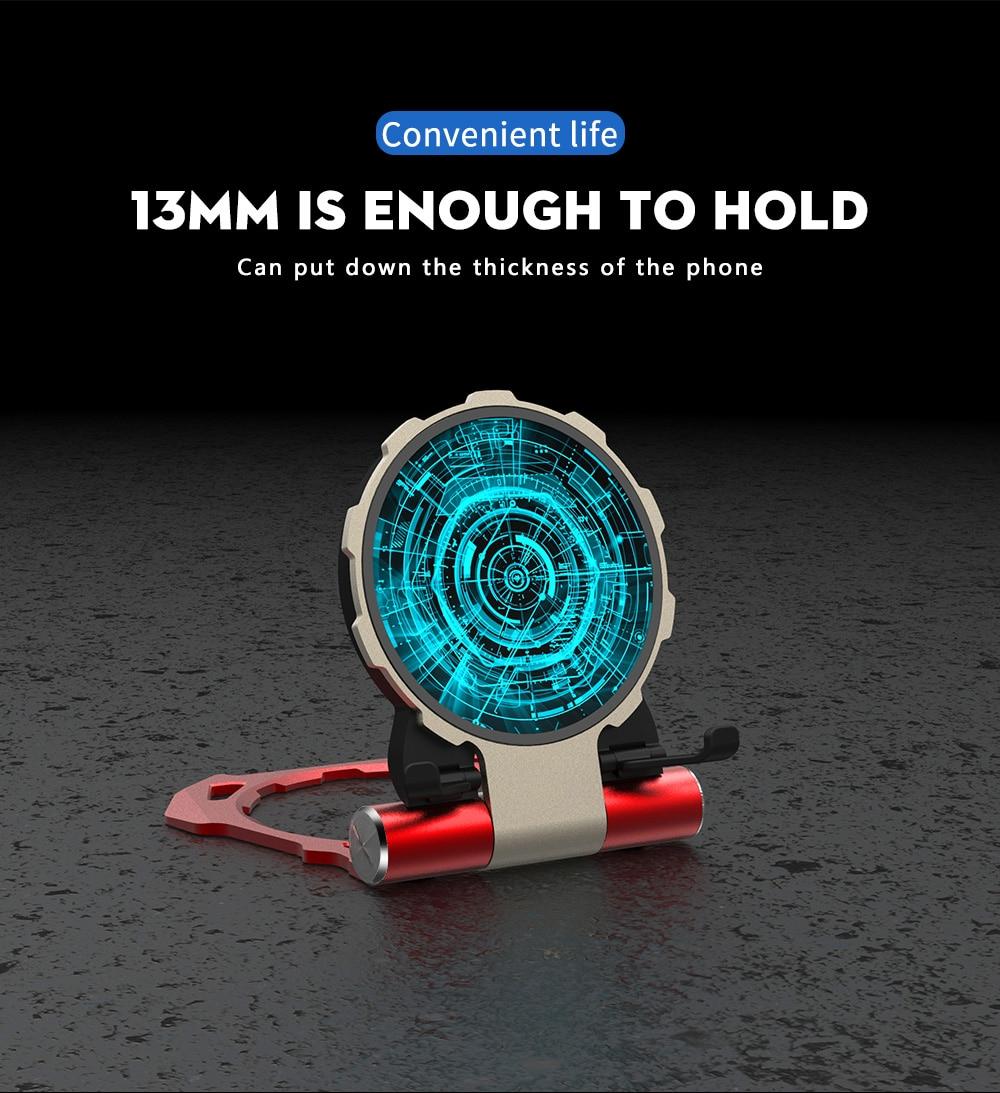 Iron Manデザイン 10W 折りたたみ スタンドタイプ Qi ワイヤレス スマートフォン 高速充電器