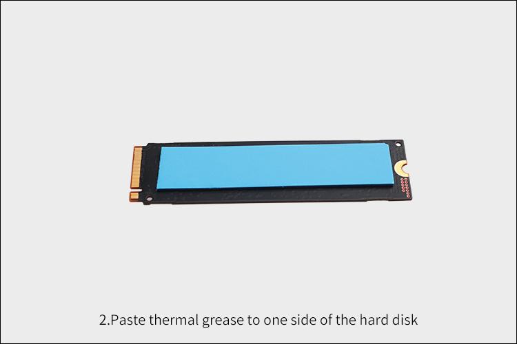 2280 22110 M.2 NVMe SATA SSD ヒートシンク デュアルファン 冷却ラジエーター キット