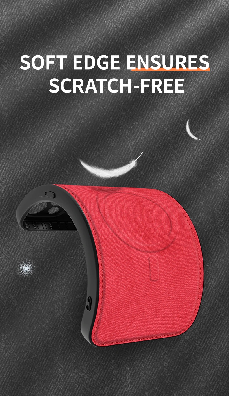 iPhone 12 Magsafeワイヤレス充電対応 キャンバスコート TPUケース