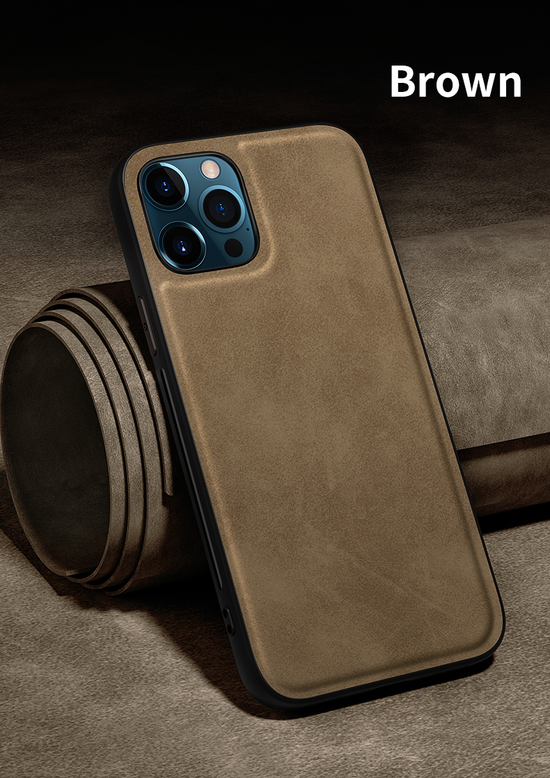 iPhone 12 11 ワイヤレス充電対応 ビルトインマグネット ソフトPUレザーフランネルケース