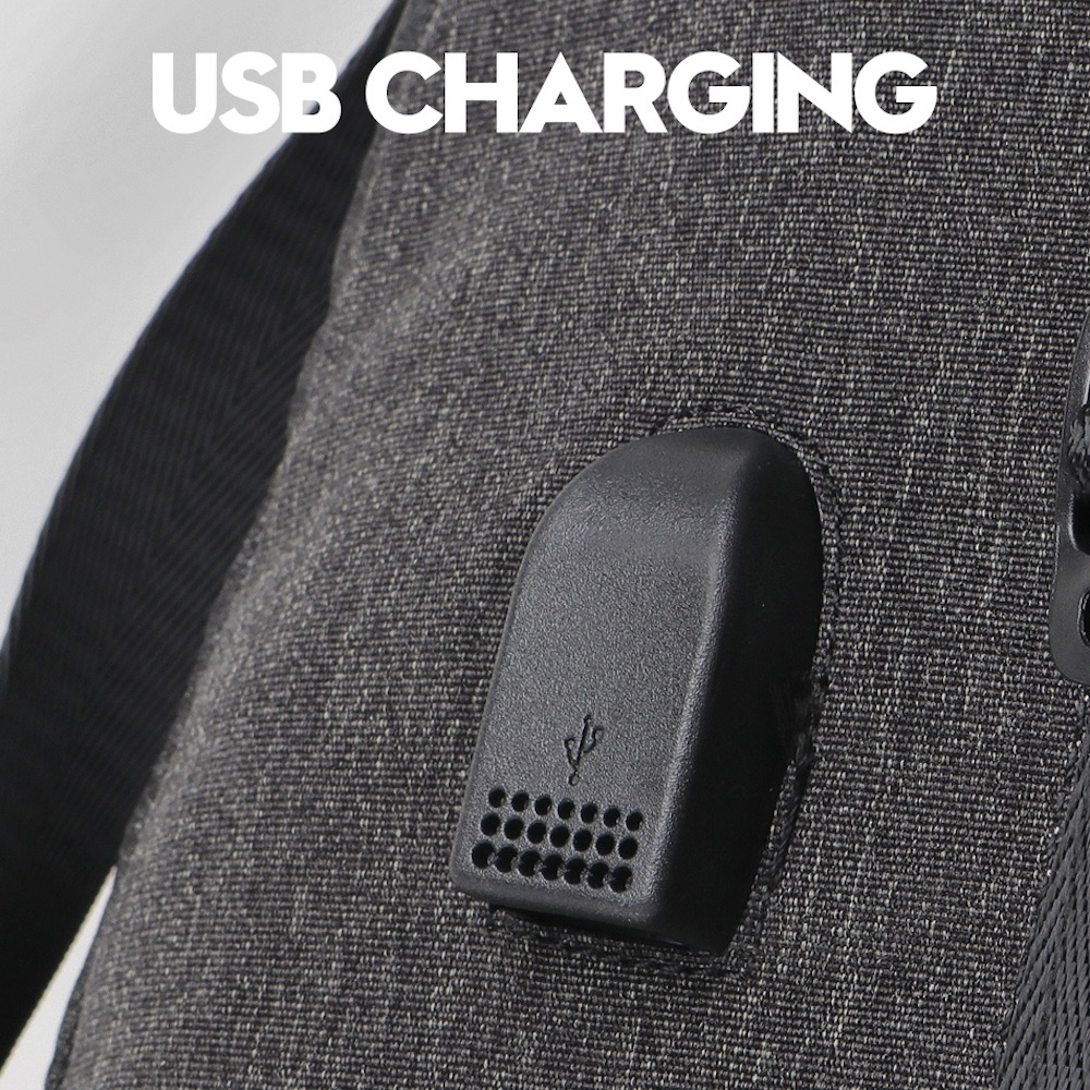 スマホ充電 USBポート付き ダッフルバッグ ボストンバッグ トラベル バックパック パソコン・タブレット・シューズ収納