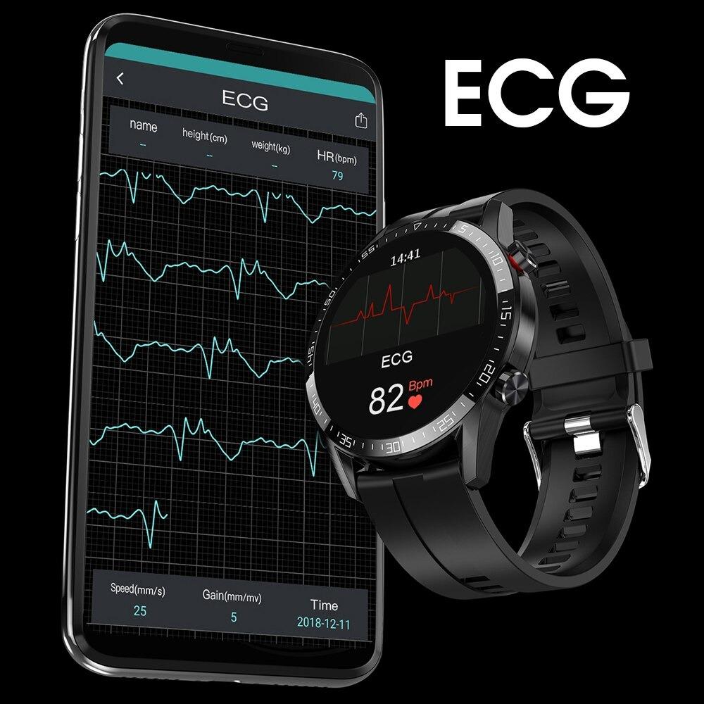 1.3インチ ラウンドスクリーン ECGスマートウォッチ