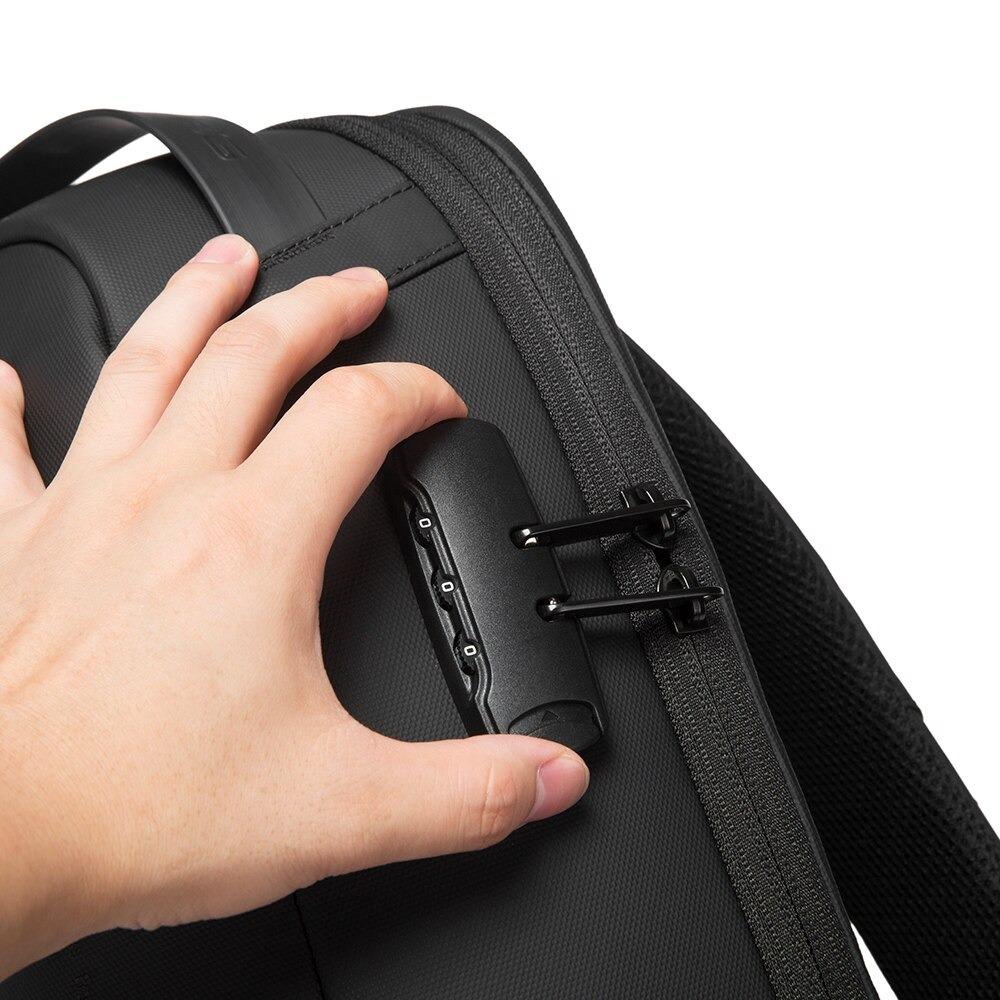 15.6インチノートパソコン収納 USB 3.0ポート ダイヤルロック付き バックパック