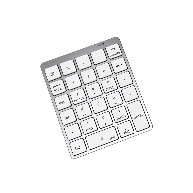 USBハブ付き Bluetooth USB接続 28キー テンキー