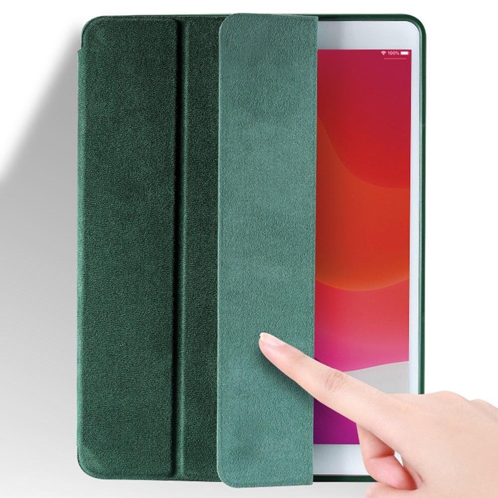 アルカンターラ ラグジュアリー iPad スマートフォリオケース